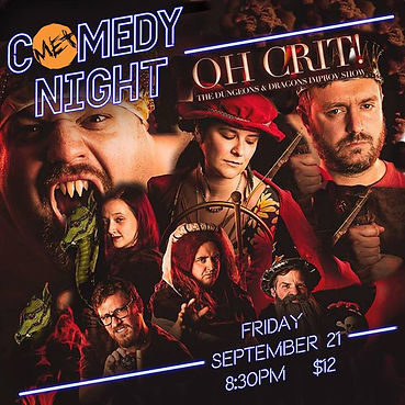Oh Crit poster september comedy night.jp