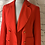 Thumbnail: Vivienne Westwood cherry red jacket size 10❤️