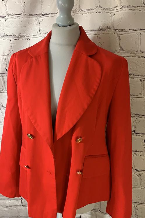 Vivienne Westwood cherry red jacket size 10❤️