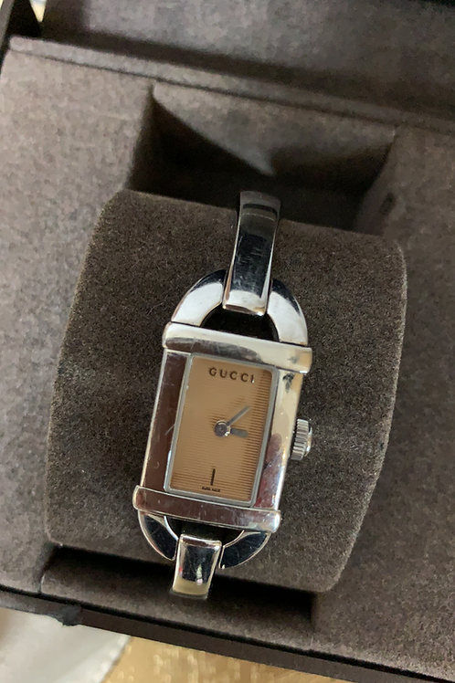 Gucci watch with receipt