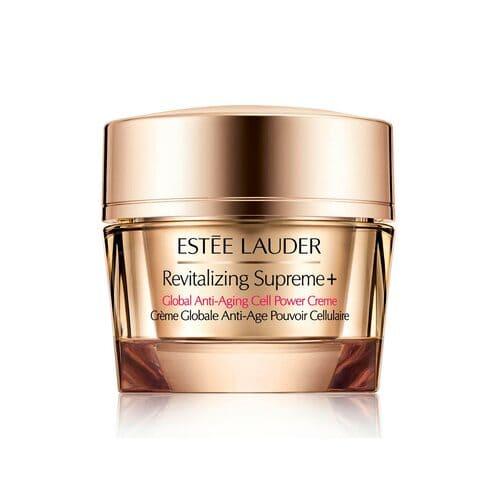 ESTEE LAUDER REVITILIZING SUPREME +. Estimula la energía natural de tu piel para amplificar el colágeno y elastina. Las líneas de expresión y arrugas se reducen.