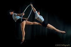 Soda City Cirque Lyra Duo