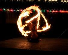 Soda City Cirque Fire Hoop