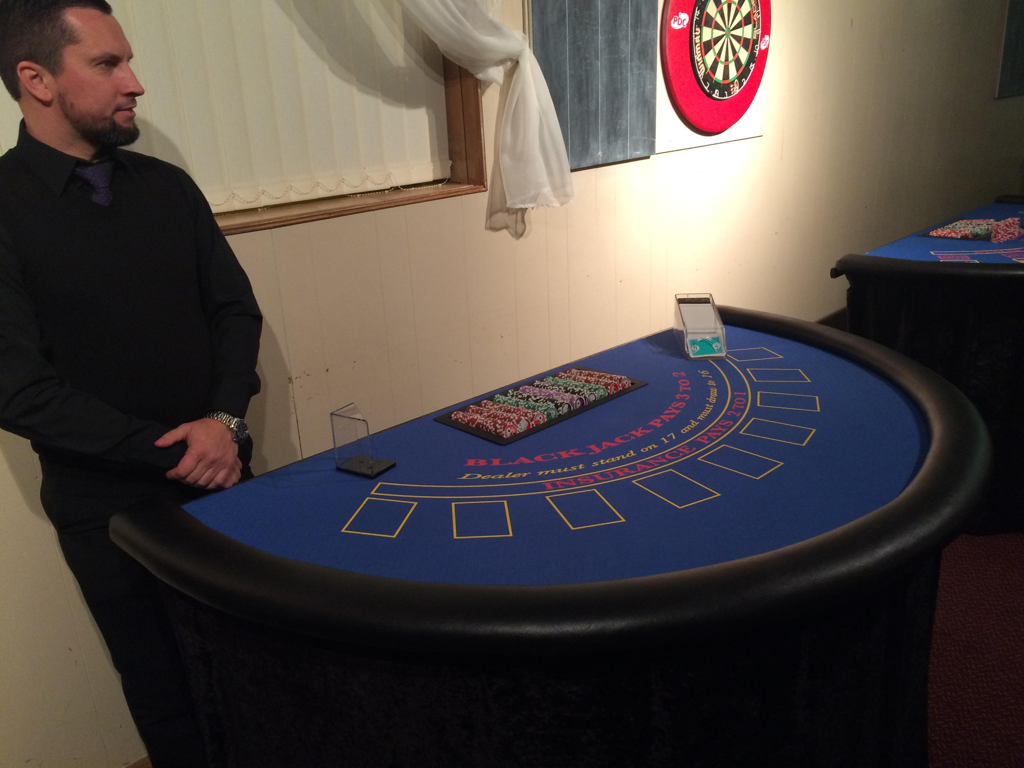 Blackjack with Ray