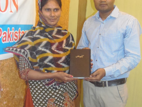 Bible Distribution Project