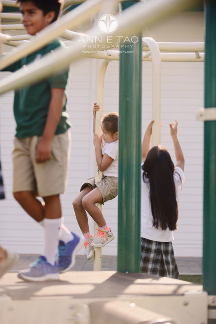 San-Francisco-Bay-Area-school-photography-students-on-play-structure-capturing-different-visual-layers