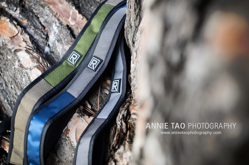 BlackRapid-W1-camera-strap-exclusive-closeup-of-colors-against-tree-side-angle