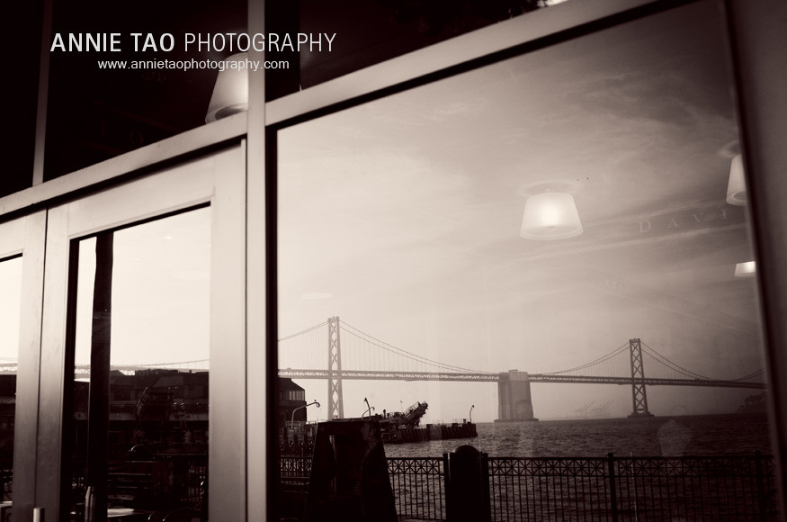 San-Francisco-family-photography-Ferry-Building-reflection-of-Bay-Bridge