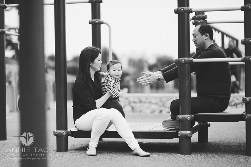 San-Francisco-lifestyle-family-photography-parents-sitting-with-baby-at-play-structure-BxW