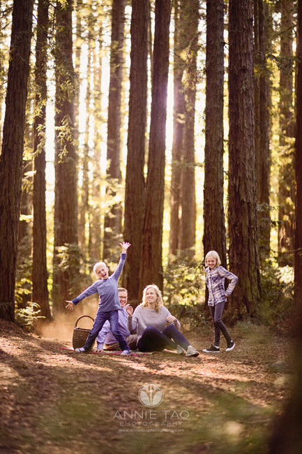 east-bay-lifestyle-family-photography-family-being-silly-in-redwood-forest