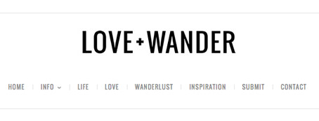 Featured on Love+Wander