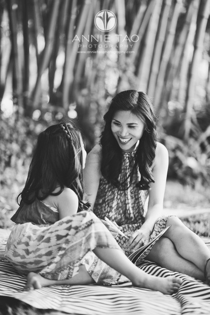 Bay-Area-lifestyle-family-photography-mom-smiling-at-daughter-BxW