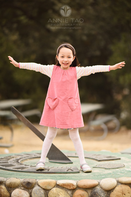 San-Francisco-Bay-Area-lifestyle-children-photography-young-girl-standing-like-a-star