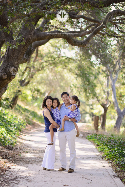 East-Bay-lifestyle-family-photography-family-of-four-on-path-in-woods