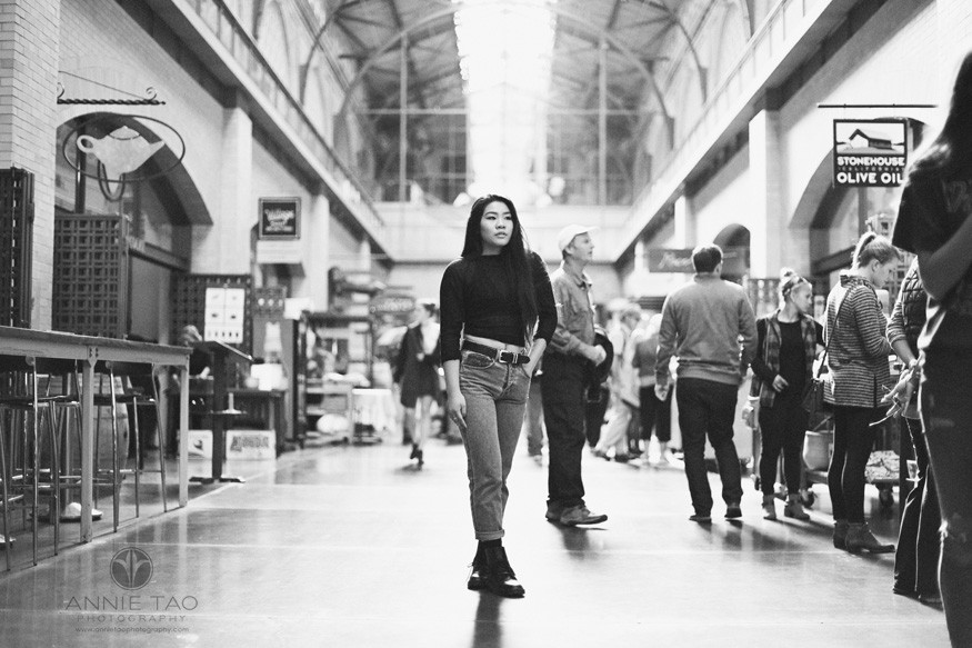San-Francisco-senior-photography-teen-girl-standing-in-ferry-building-BxW