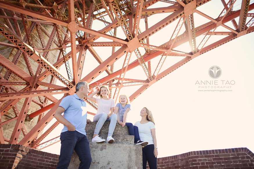 San-Francisco-lifestyle-family-photography-family-hanging-out-under-the-golden-gate-bridge