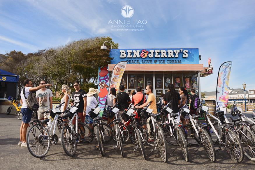 San-Francisco-lifestyle-photography-Ben-and-Jerrys-bikes