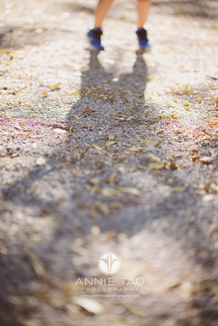 East-Bay-lifestyle-children-photography-young-boy-shadow-in-gravel