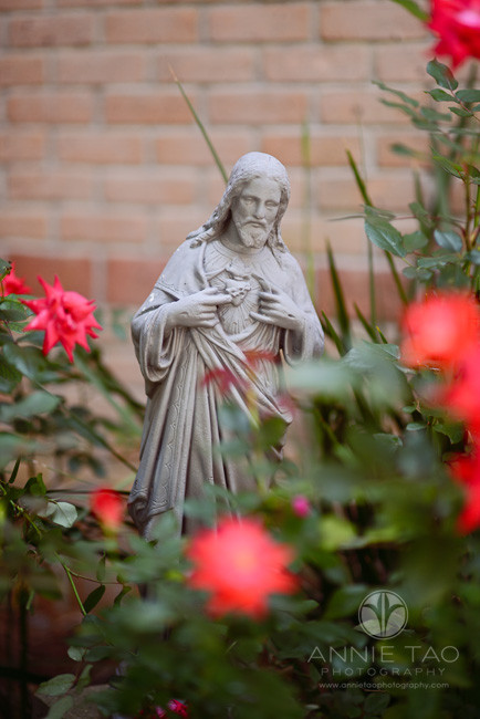 Commercial-education-photography-school-grounds-Jesus-statue