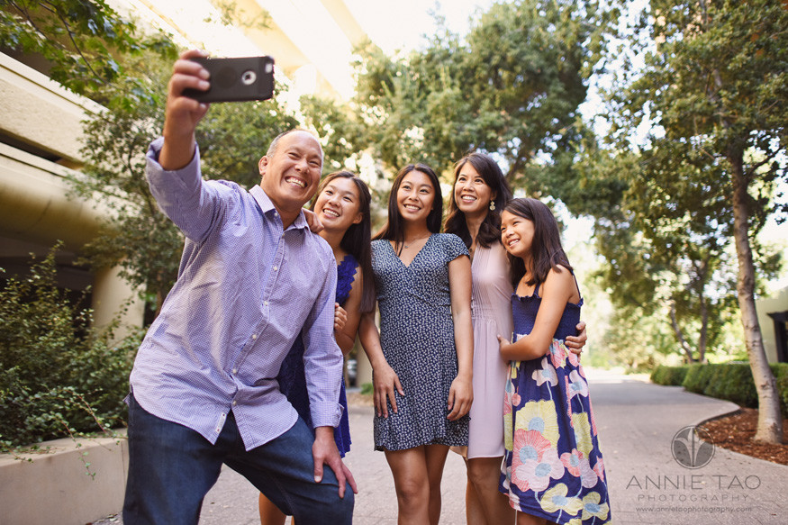 Bay-Area-lifestyle-family-teen-photography-group-selfie