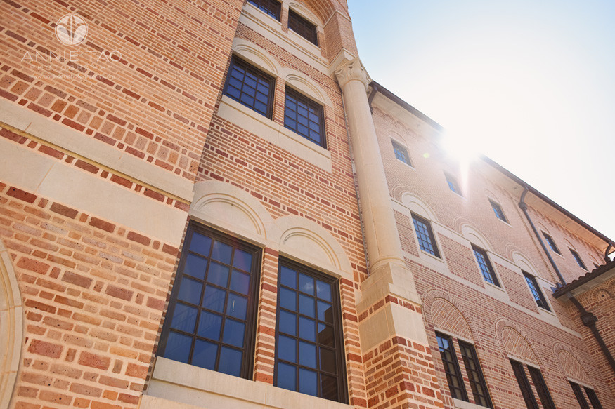 Commercial-Photography-Rice-Business-School-building-with-sunflare