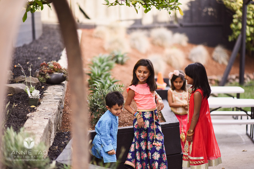 East-Bay-event-photography-diwali-children-playing-in-backyard-party