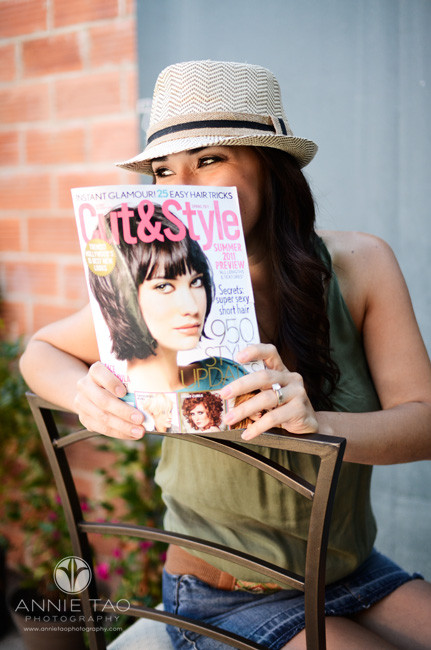 East-Bay-personal-brand-commercial-photography-hair-stylist-with-trade-magazine