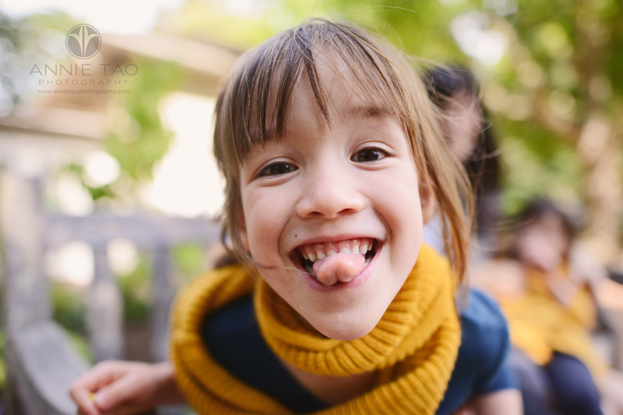 Bay-Area-lifestyle-children-photography-young-girl-making-silly-face-closeup