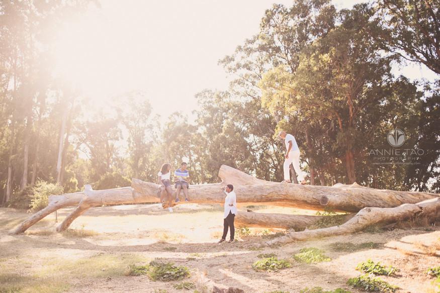 San-Francisco-Bay-Area-lifestyle-family-teen-photography-climbing-on-giant-fallen-tree