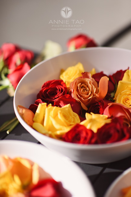 East-Bay-event-photography-diwali-bowls-of-roses-for-rangolis