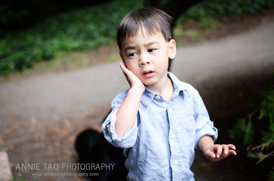 Berkeley-lifestyle-family-photography-boys-reaction-after-being-licked-by-dog