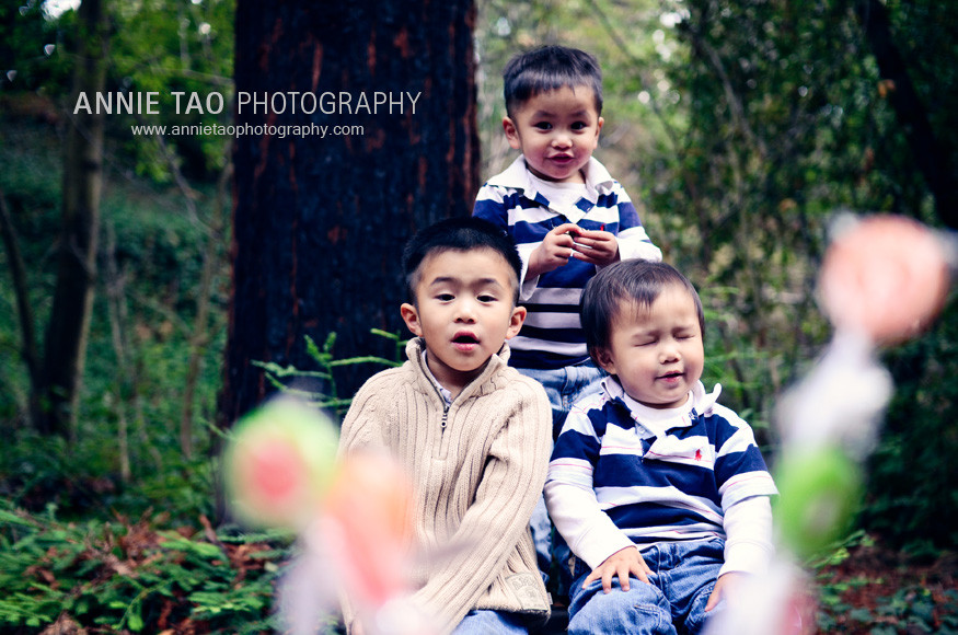 East-Bay-lifestyle-family-photography-three-boys-seeing-lollypop-reward