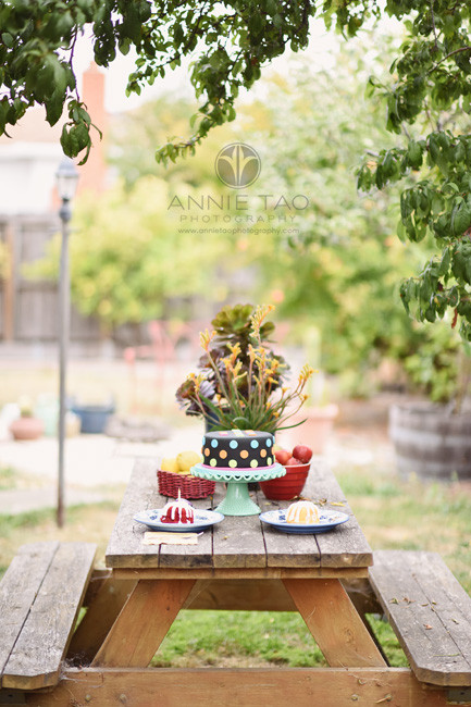 East-Bay-styled-photography-beautiful-vintage-birthday-cake-on-picnic-table