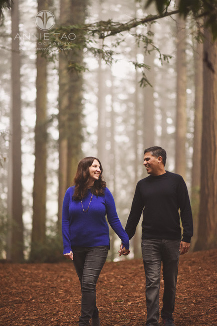 East-Bay-lifestyle-couple-photography-holding-hands-walking-in-forest