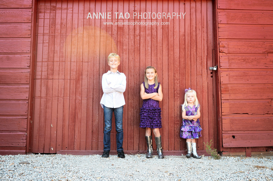 South-Bay-lifestyle-family-photography-kids-standing-against-red-wall