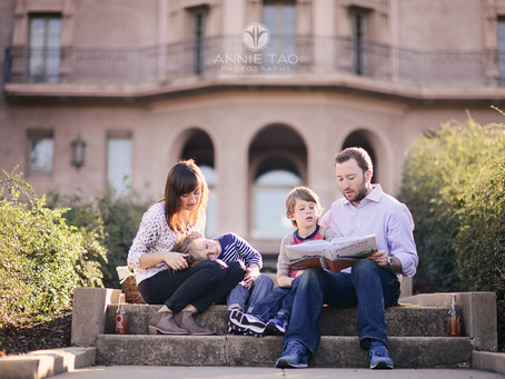 Setting Up Families for a Lifestyle Shoot