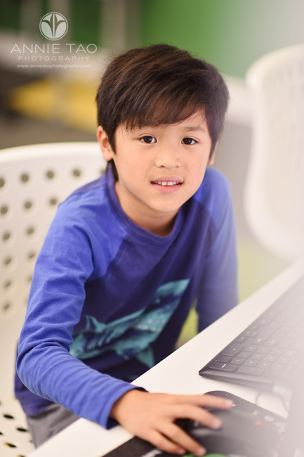 East-Bay-commercial-photography-young-boy-working-at-computer