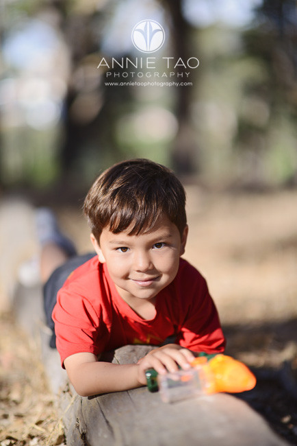 San-Francisco-Bay-Area-lifestyle-children-photography-boy-laying-on-a-log