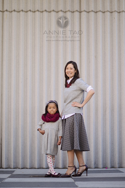 San-Francisco-lifestyle-family-photography-mother-and-daughter-striking-a-pose