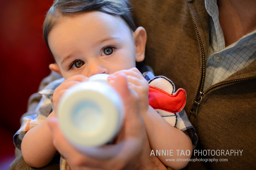 San-Francisco-Bay-Area-Event-Photography-birthday-party-baby-drinking-from-a-bottle