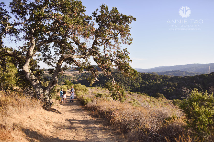 Bay-Area-lifestyle-family-photography-family-at-the-top-of-a-mountain-ridge