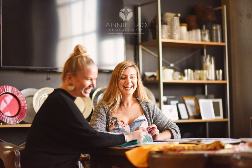 San-Francisco-commercial-photography-mccalls-catering-designer-and-sales-laughing-at-work
