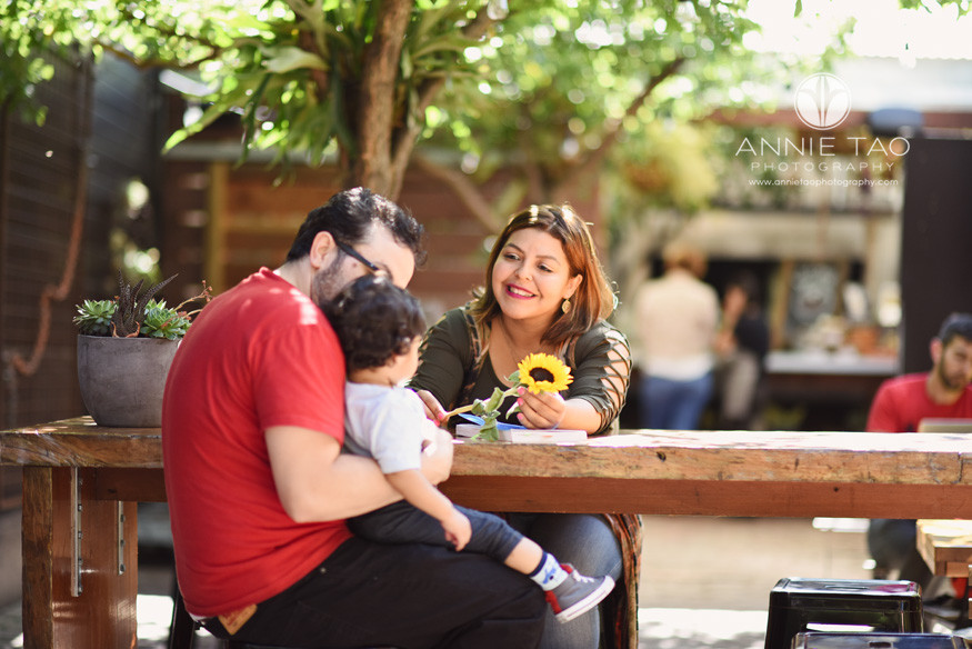 San-Francisco-commercial-photography-City-College-student-sitting-with-her-family-at-cafe-2