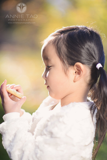 East-Bay-children-lifestyle-photography-profile-girl-holding-cookie