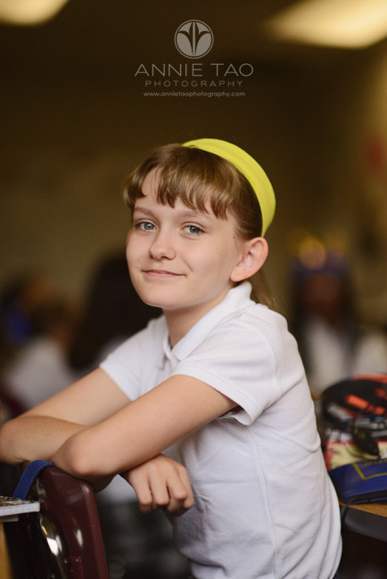 Commercial-education-photography-girl-with-yellow-headband-in-class