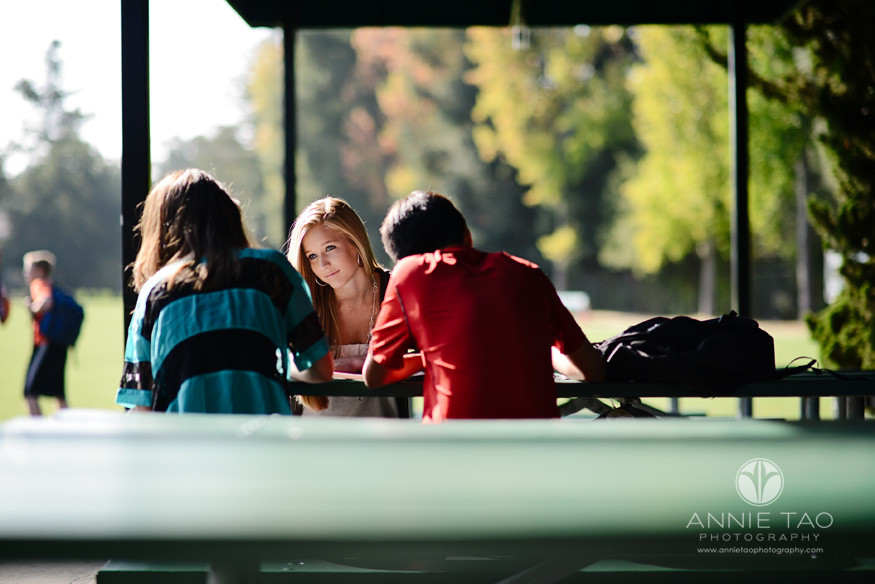 Bay-Area-Los-Altos-Commercial-Education-Photography-High-School-kids-studying-at-table