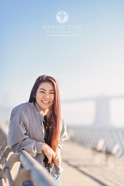 San-Francisco-senior-photography-teen-girl-laughing-on-pier-closeup