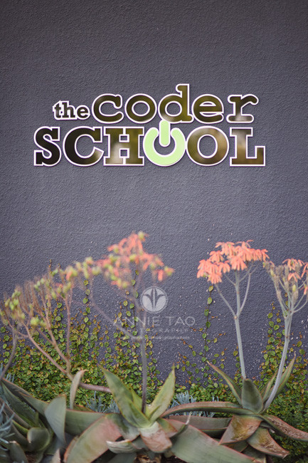 East-Bay-commercial-photography-the-coder-school-building-sign