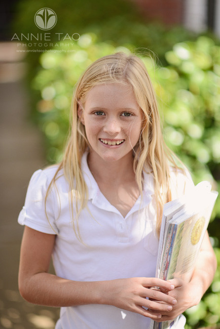 Bay-Area-Los-Altos-Commercial-Photography-student-holding-her-books