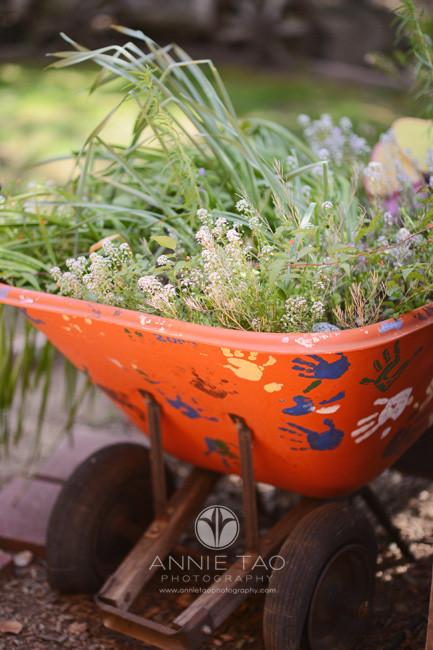 San-Francisco-Bay-Area-commercial-photography-elementary-school-wagon-in-garden